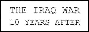 Iraq war 10 years after